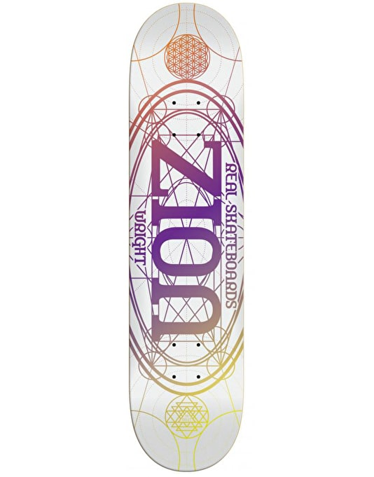 Real Zion Oval Skateboard Deck - 8.38""