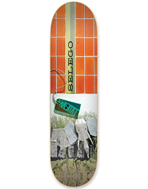 Habitat Selego Exposition Series Reissue Skateboard Deck - 8.375