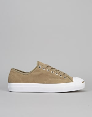Converse Jack Purcell Pro Skate Shoes - Khaki/Khaki/White