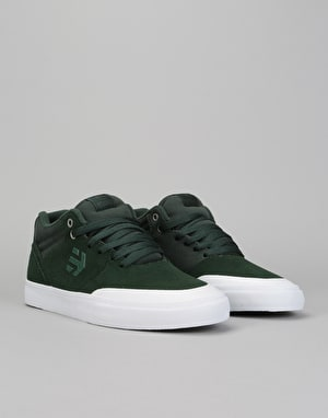 Etnies Marana Vulc MT Skate Shoes - Green/White
