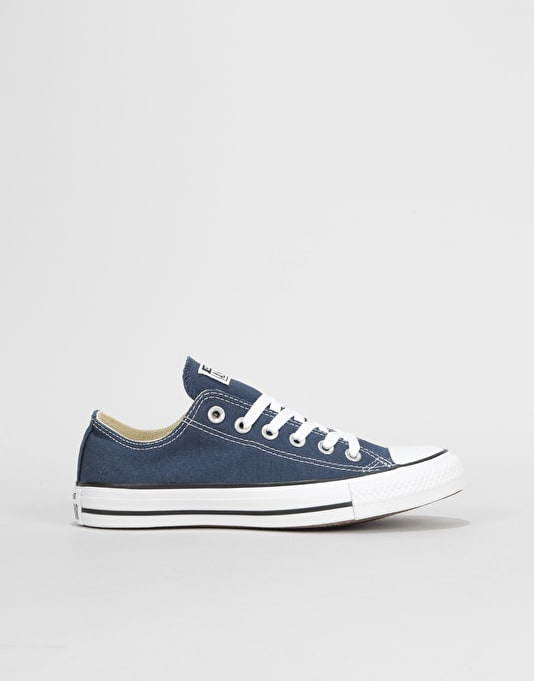 Converse All Star Low Womens Trainers - Navy