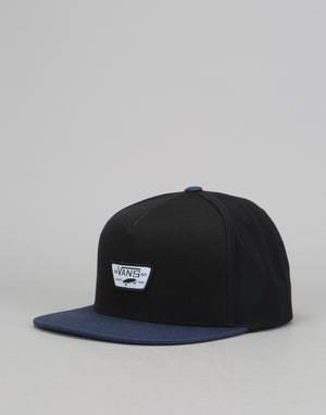 Vans Mini Full Patch Snapback Cap - Black/Dress Blue