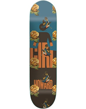 Girl Howard Sanctuary Skateboard Deck - 8.5