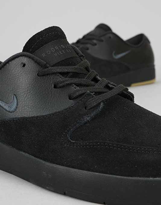 Nike SB Zoom P-Rod X Skate Shoes - Black/Anthracite-Gum Light Brown
