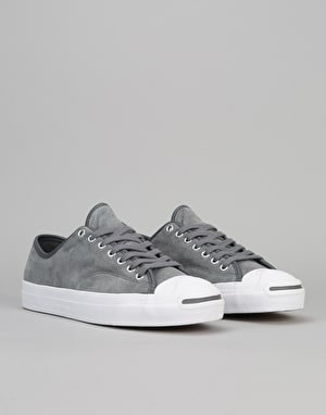 Converse Jack Purcell Pro Skate Shoes - Thunder/Thunder/White