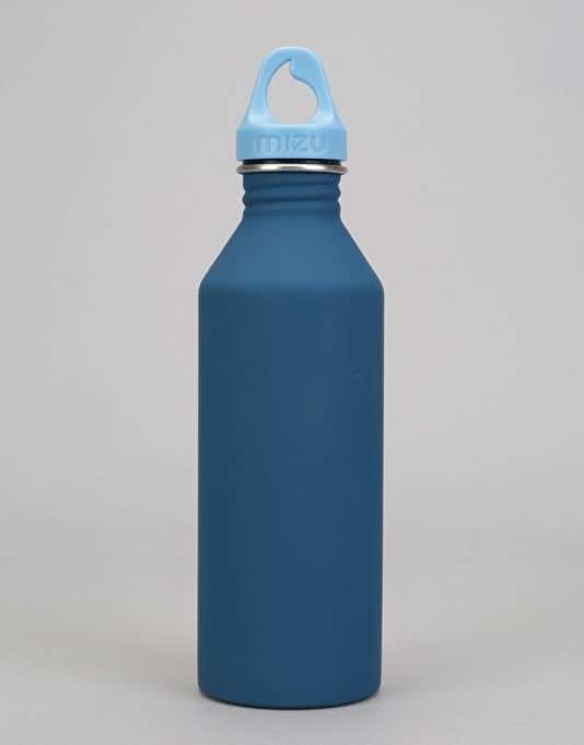 MIZU M8 Soft Touch 800ml/27oz Water Bottle - Blue