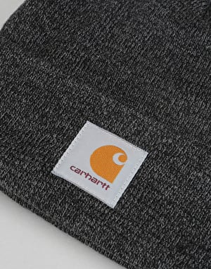Carhartt Scott Watch Beanie - Dark Grey Heather/Black