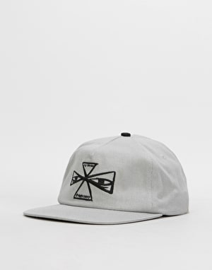 Independent Barbee Cross Strapback Cap - Light Grey
