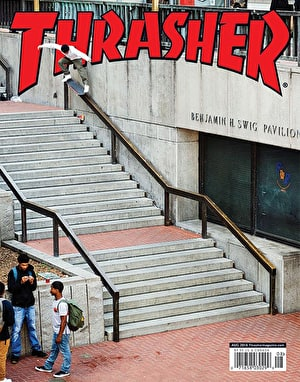 Thrasher Magazine Issue 457 August 2018