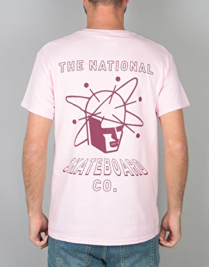The National Skateboard Co. Spin T-Shirt - Pink