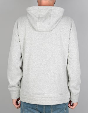 Primitive Iceberg Quater Zip Pullover Hoodie - Ice Heather