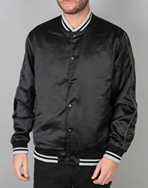 RIPNDIP Share Some Love Satin Jacket - Black