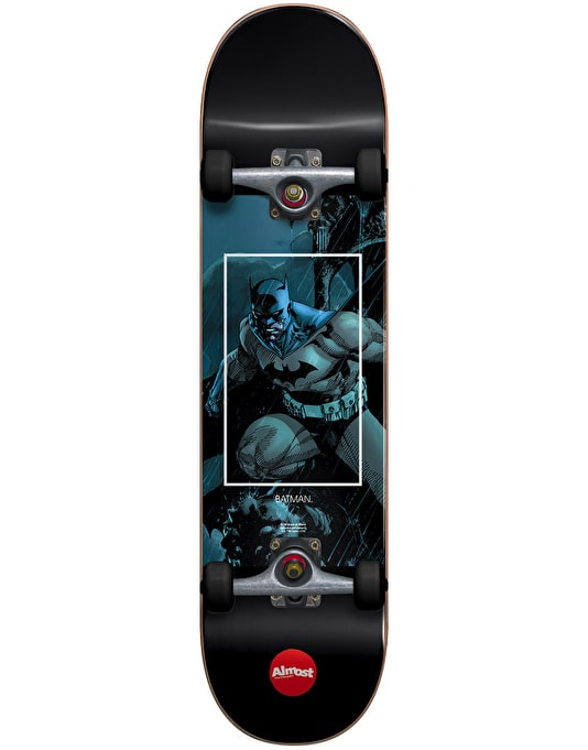 Almost x DC Comics Batman Fight Club Mid Complete Skateboard - 7.25""