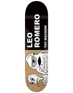 Toy Machine Romero Tract Pro Deck - 8.125