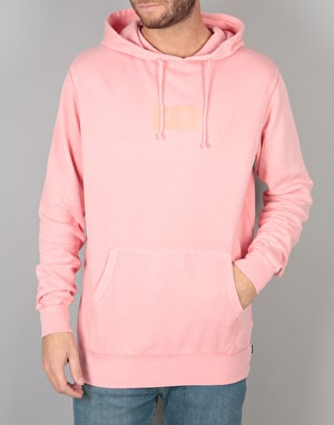 HUF Bar Logo Overdyed Pullover Hoodie - Rose