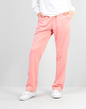 RIPNDIP Womens Kamasutra Overwsized Satin Track Pants - Pink