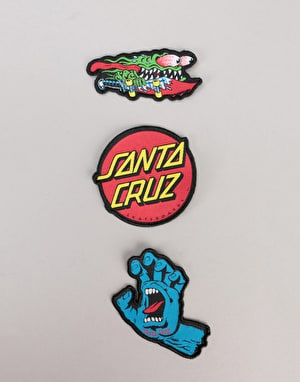 Santa Cruz Classic Patch Set - Multi