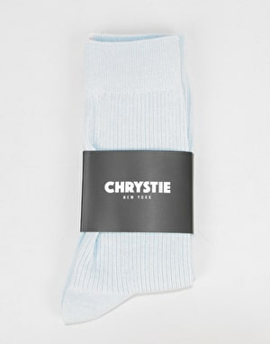 Chrystie Casual Socks - Light Blue