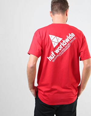 HUF Peak T-Shirt - Red