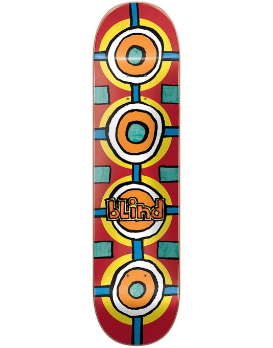 Blind Round Space Skateboard Deck - 8""
