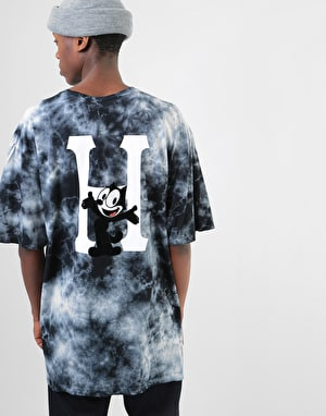 HUF x Felix The Cat Felix Classic H Wash T-Shirt - Grey