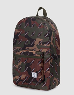 Herschel Supply Co. x Independent Packable Daypack - Woodland Camo/FTR