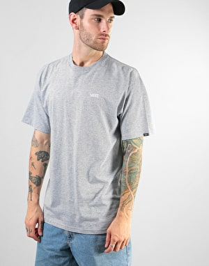 Vans Left Chest Logo T-Shirt - Athletic Heather