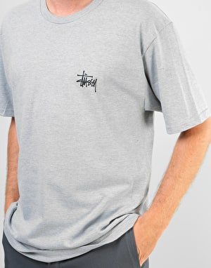 Stüssy International Arc T-Shirt - Grey Heather