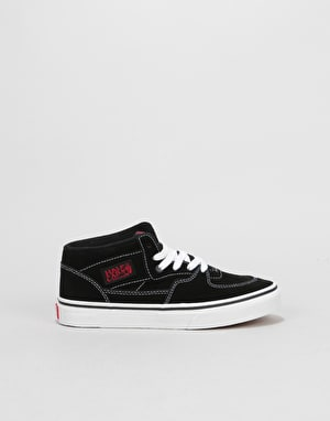 Vans Half Cab Boys Skate Shoes - Racing Red/True White