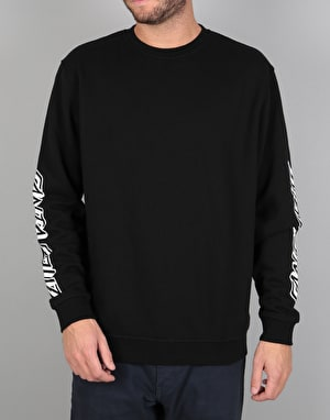 Santa Cruz Ringed Dot Crew - Black