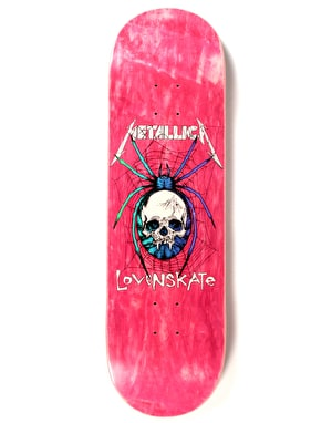 Lovenskate x Metallica Spider Ltd Deck - 8.8