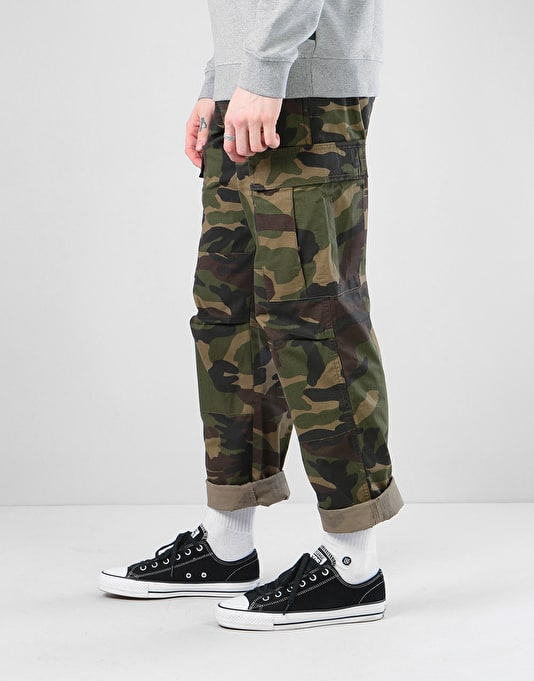 Route One Cargo Pants - Camouflage
