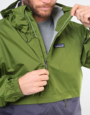 Patagonia Torrentshell Pullover Jacket - Sprouted Green