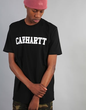 Carhartt College T-Shirt - Black/White