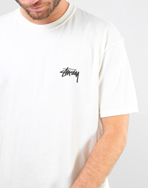 Stüssy Live Clean Pigment Dyed T-Shirt - Natural