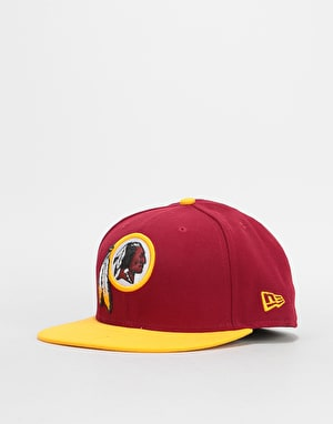 New Era 59Fifty NFL Washington Redskins Fitted Cap - Burgundy