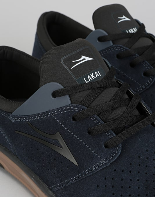 Lakai Fremont Skate Shoes - Midnight Suede