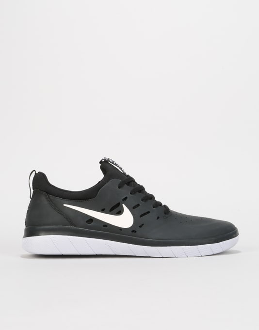 NYJAH FREE - Sneaker low - black/light brown xe83ZSF