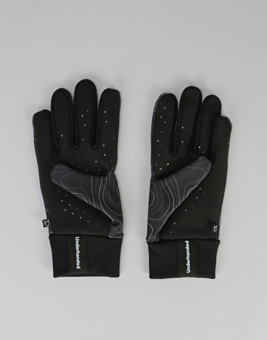 Underhanded Super Touchscreen Gloves - Topography