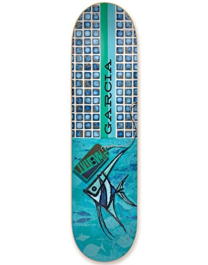 Habitat Garcia Exposition Series Reissue Skateboard Deck - 8.125