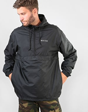 Nicce Core Kagoule Jacket - Black