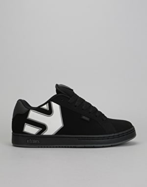 Etnies Fader Skate Shoes - Black/Black/Reflective