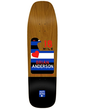 Anti Hero BA Scenic Drive Skateboard Deck - 9.25