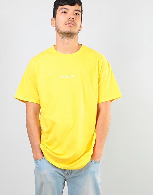 Route One Abstract T-Shirt - Daisy