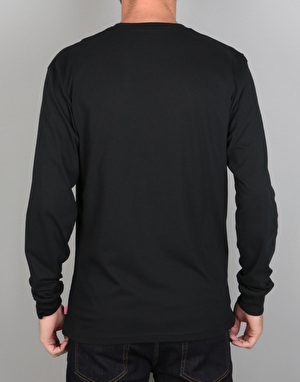 Vans Classic L/S T-Shirt - Black/Cathay Spice