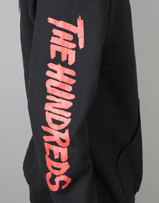 The Hundreds x Friday The 13th Split Pullover Hoodie - Black