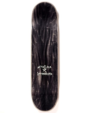 Lovenskate x Metallica Shortest Straw Ltd Deck - 8
