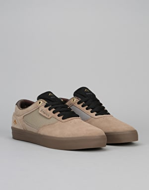 Emerica Empire G6 Low Vulc Skate Shoes - Tan/Gum