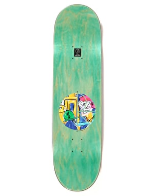 Polar Herrington Debacle Skateboard Deck - 8.6