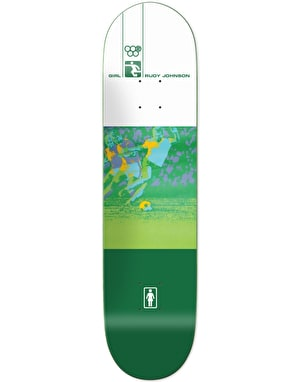 Girl Rudy Olympic Futbol Reissue Skateboard Deck - 8.25